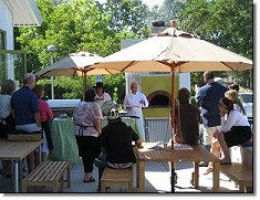 Demonstration Kitchen Outdoor relish culinary center - teaching kitchen and event facility