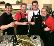 Cooking with winemakers!