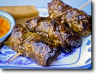 Beef in Grape Leaves