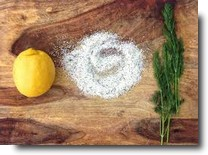 Citrus Salt fixins