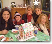 Family gingerbread fun