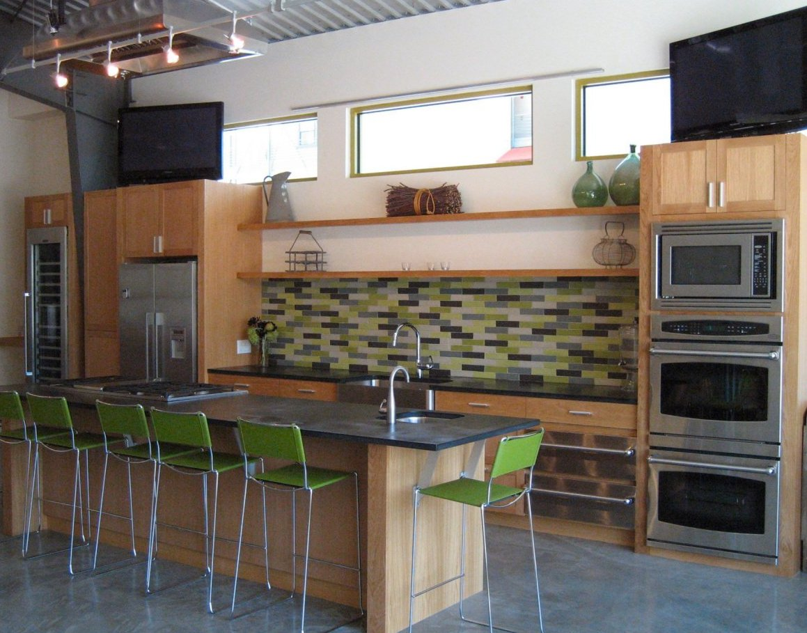 Teaching Kitchen Design press information for relish culinary school