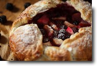 Pear Blackberry Galette